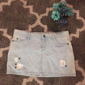 Forever 21 medium Jean skirt